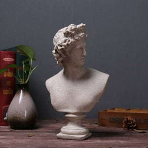 Bust of David sculpture
