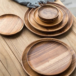 Load image into Gallery viewer, Natural Wooden Plates