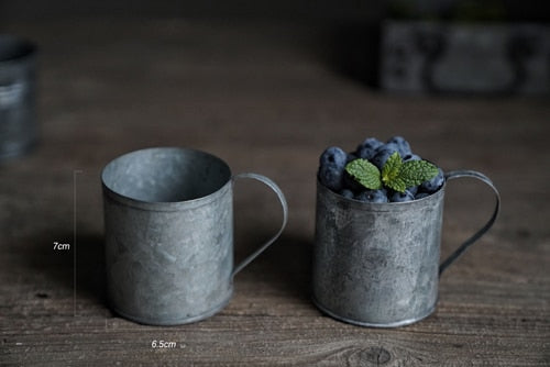 beautiful Retro Cup wrought in Iron