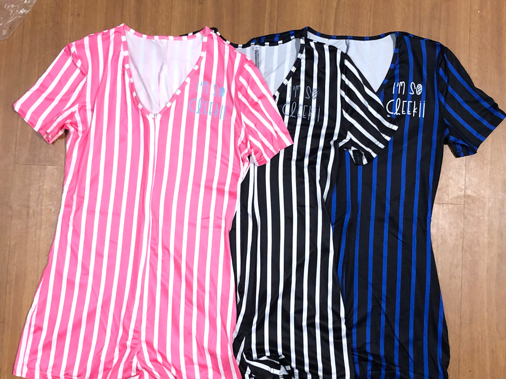 Cheekii Stripe Onesie