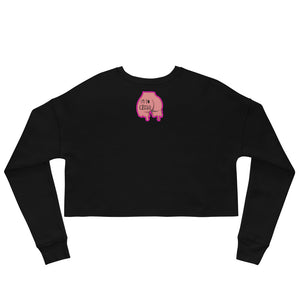 Im So Cheekii Crop Sweatshirt