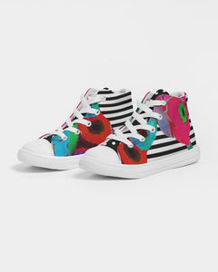 Unity Kids Hightop Canvas Shoe