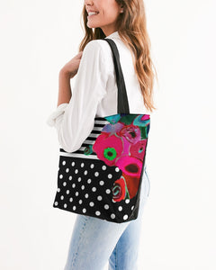 Unity Canvas Zip Tote