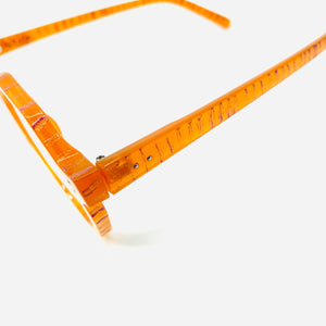 Golden Orange Round/Gear Glasses