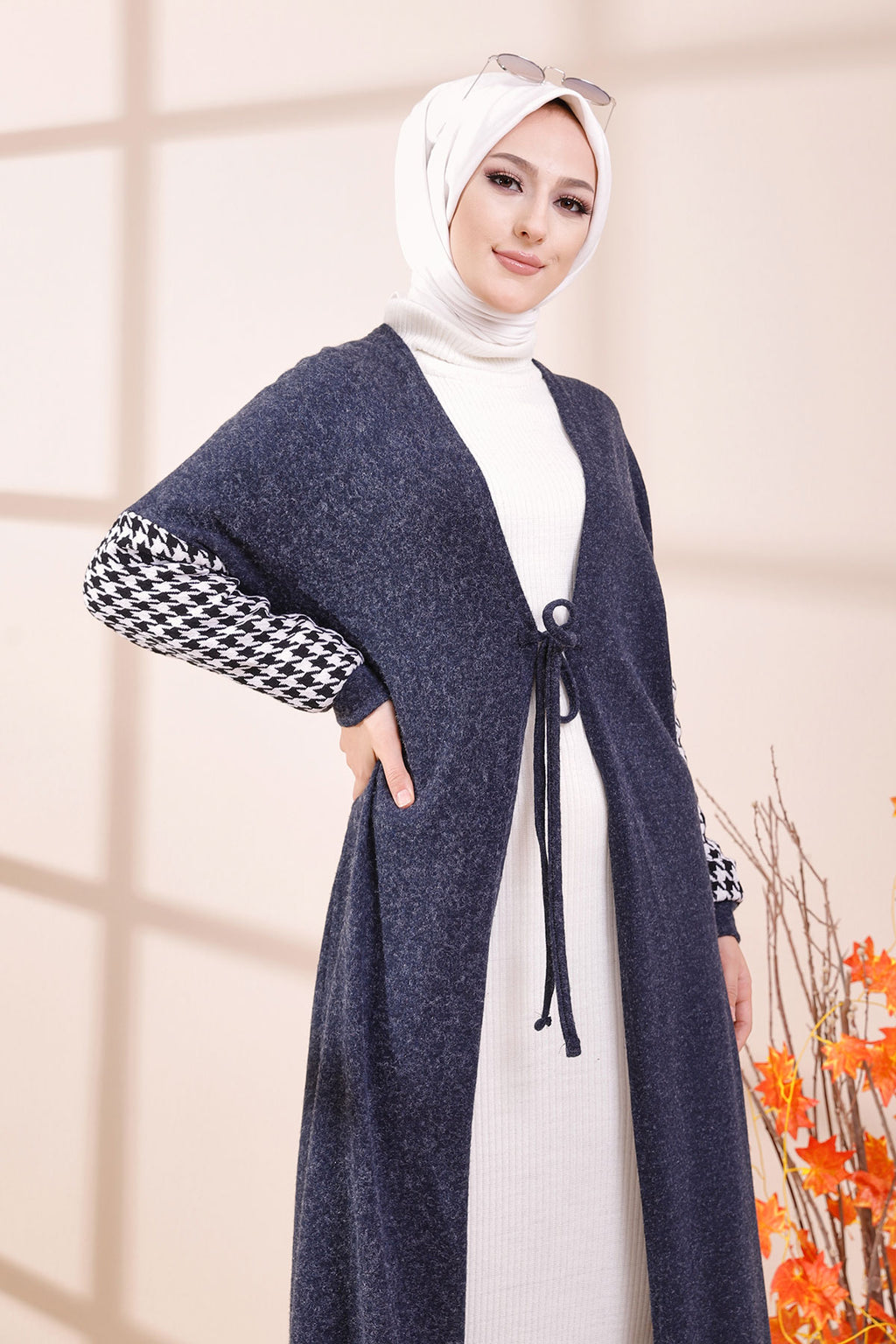 Cardigan Navy Blue - 3420