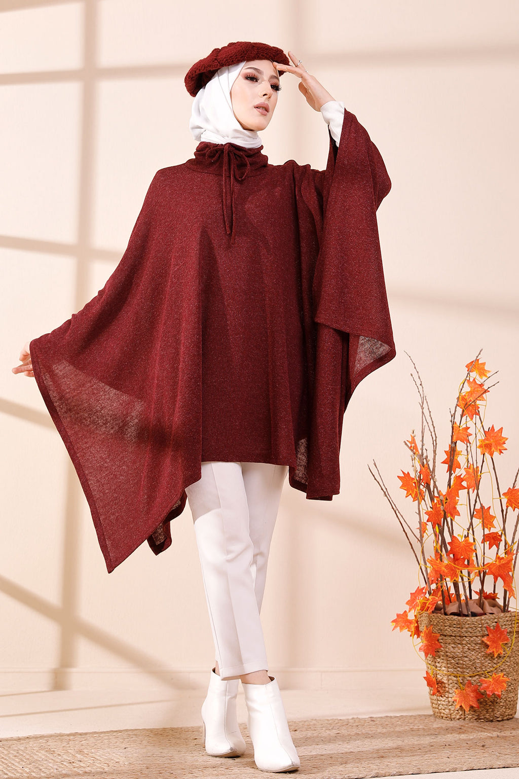 Pancho Claret Red - 3408