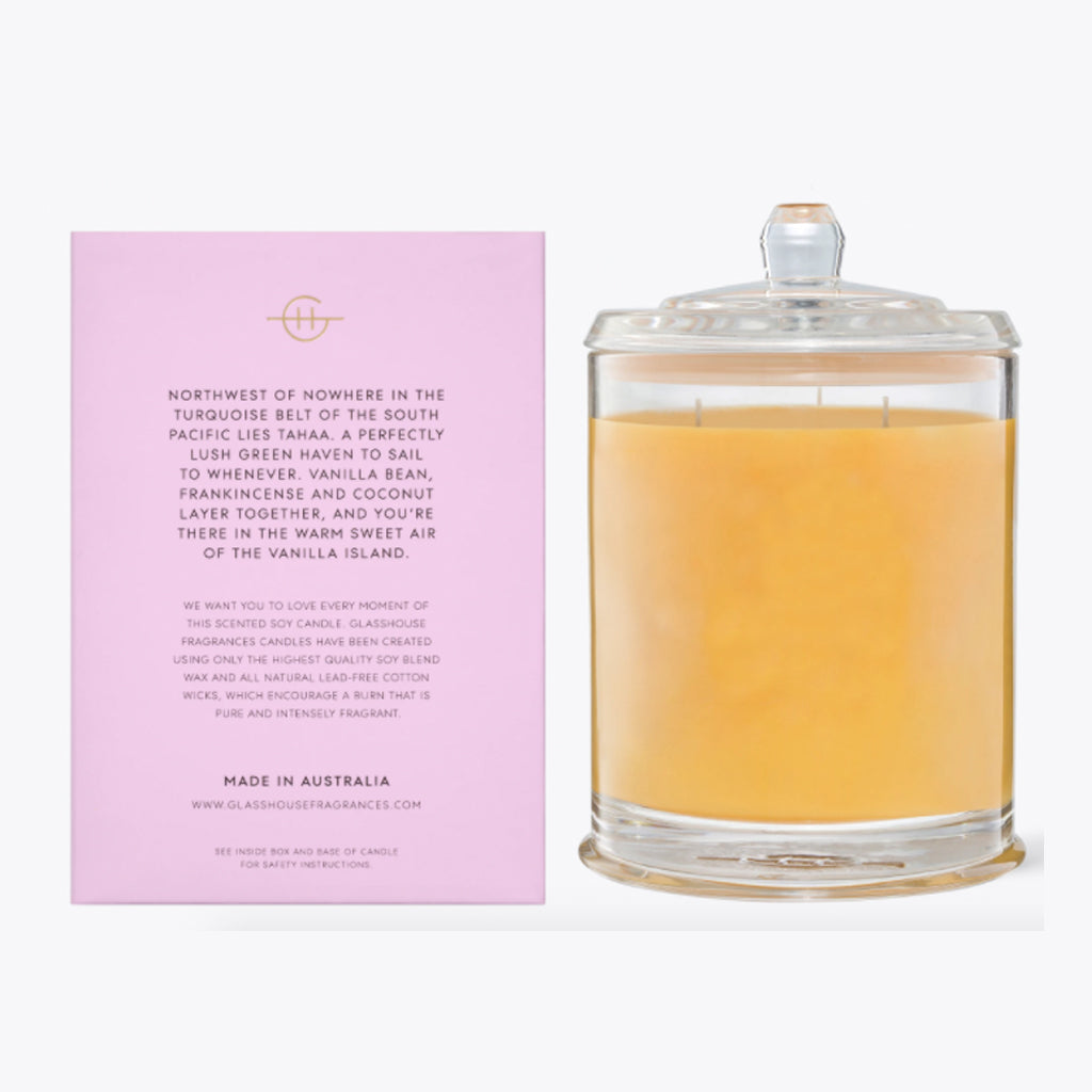 A Taahaa Affair Candle 760g (extra large)