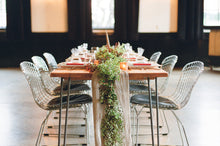 Load image into Gallery viewer, Silk Chiffon Table Runners