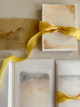 Load image into Gallery viewer, Mustard, yellow silk ribbon