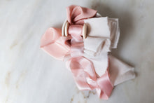 Load image into Gallery viewer, 'Blushing' Rose Ribbon Bundle