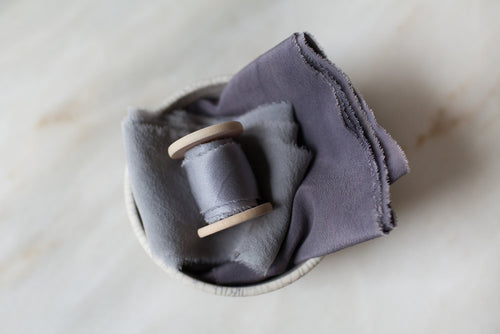 'Chance of Rain' Grey Ribbon Bundle