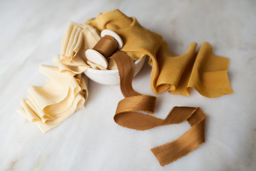 'Honey, You're Gold' Mustard Ribbon Bundle
