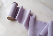 Load image into Gallery viewer, Lilac, silk crepe de chine