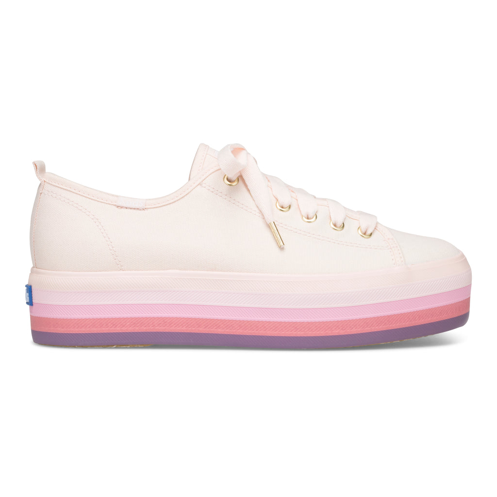 Women's Triple Up Rainbow Foxing