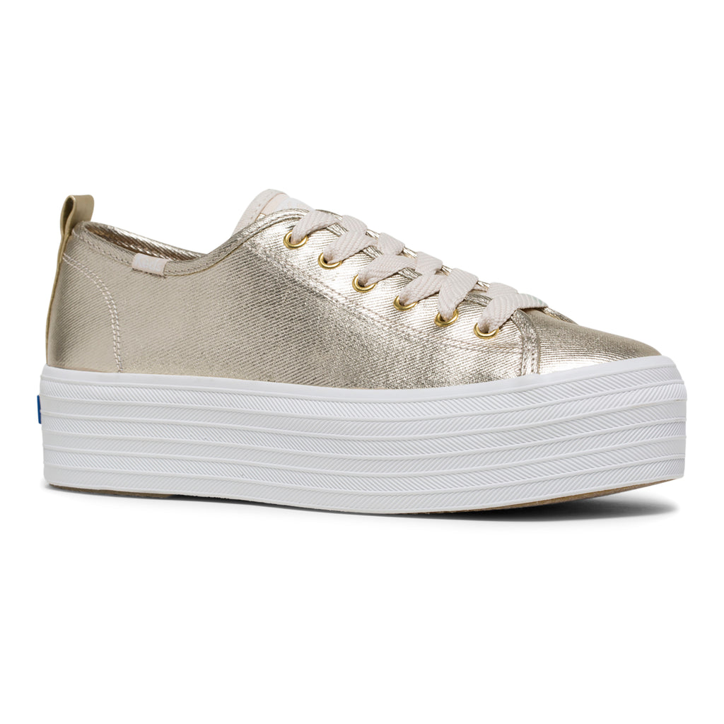 Women's Keds X Wonder Woman Triple Up Metallic