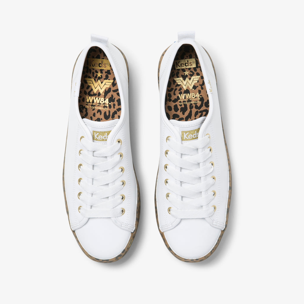 Women's Keds X Wonder Woman Triple Up Leather