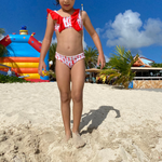 Kids bikini top and bottom patterns Maia