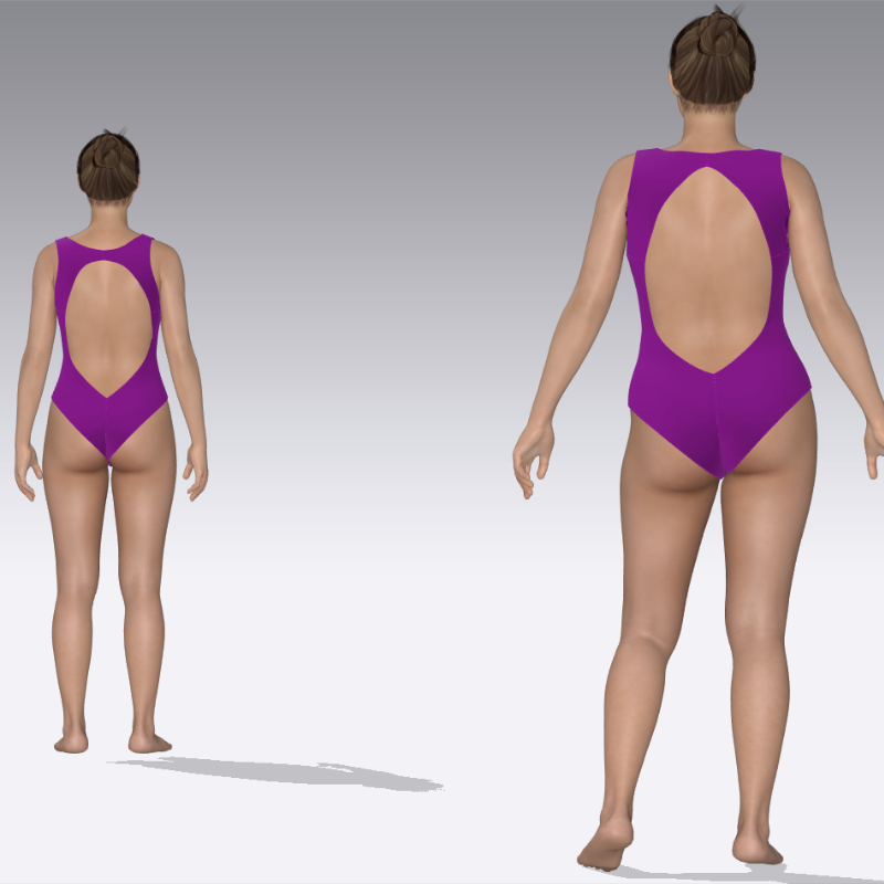 Swimsuit pattern Tanya