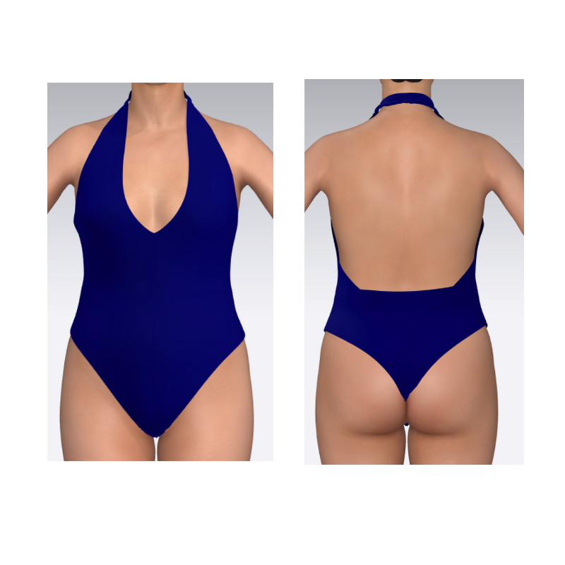 Swimsuit pattern Vesper