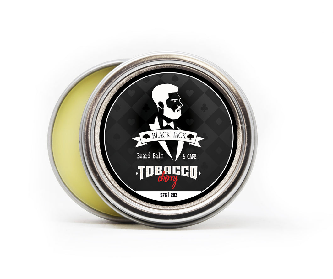 Tobacco Cherry Beard Balm - Black Jack Gentlemen's Grooming
