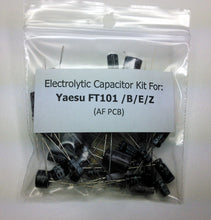 Load image into Gallery viewer, Yaesu FT-101 /B/E/ZD (AF PCB) electrolytic capacitor kit