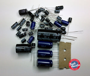 Cobra 135 XLR electrolytic capacitor kit