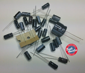 Kenwood TR-9500 electrolytic capacitor kit