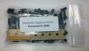 Kenwood R-2000 electrolytic capacitor kit
