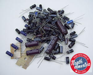 Kenwood TS-2000, TS-2000X electrolytic capacitor kit