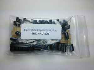 JRC NRD-525 electrolytic capacitor kit
