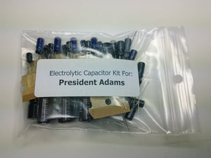 President Adams / Emperor SSB 80 (PC-346AA) electrolytic capacitor kit