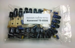 Kenwood TS-850S electrolytic capacitor kit
