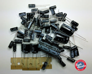 Kenwood R-1000 electrolytic capacitor kit