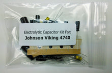 Load image into Gallery viewer, E.F. Johnson Viking 4740 (242-4740) electrolytic capacitor kit