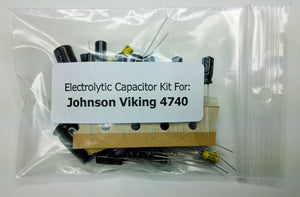 E.F. Johnson Viking 4740 (242-4740) electrolytic capacitor kit