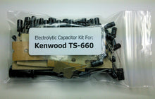 Load image into Gallery viewer, Kenwood TS-660 electrolytic capacitor kit