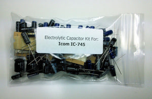 Icom IC-745 electrolytic capacitor kit