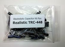 Load image into Gallery viewer, Realistic TRC-448 (21-1561) electrolytic capacitor kit