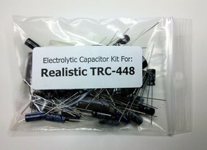 Realistic TRC-448 (21-1561) electrolytic capacitor kit