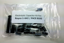 Load image into Gallery viewer, Royce 1-642 / PACE 8193 electrolytic capacitor kit