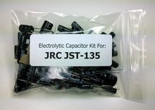 Load image into Gallery viewer, JRC JST-135 electrolytic capacitor kit