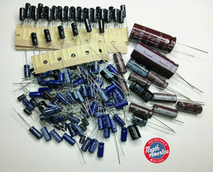 Drake R8, R8E electrolytic capacitor kit