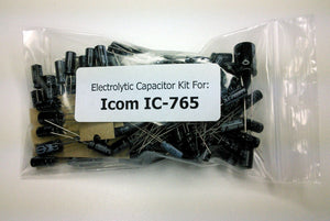 Icom IC-765 electrolytic capacitor kit