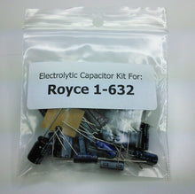 Load image into Gallery viewer, Royce 1-632 electrolytic capacitor kit