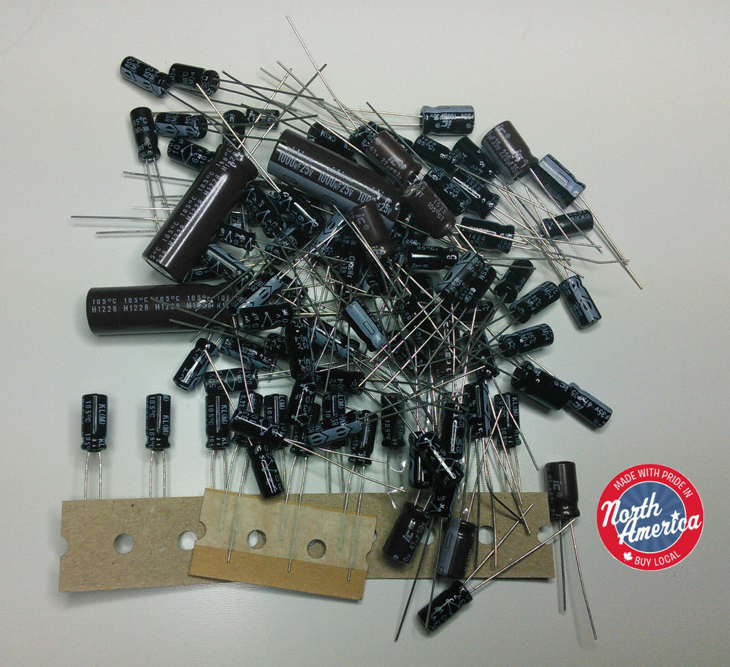 Icom IC-R70 electrolytic capacitor kit