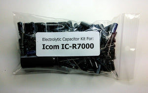 Icom IC-R7000 electrolytic capacitor kit