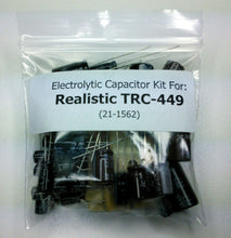Load image into Gallery viewer, Realistic TRC-449 (21-1562) electrolytic capacitor kit