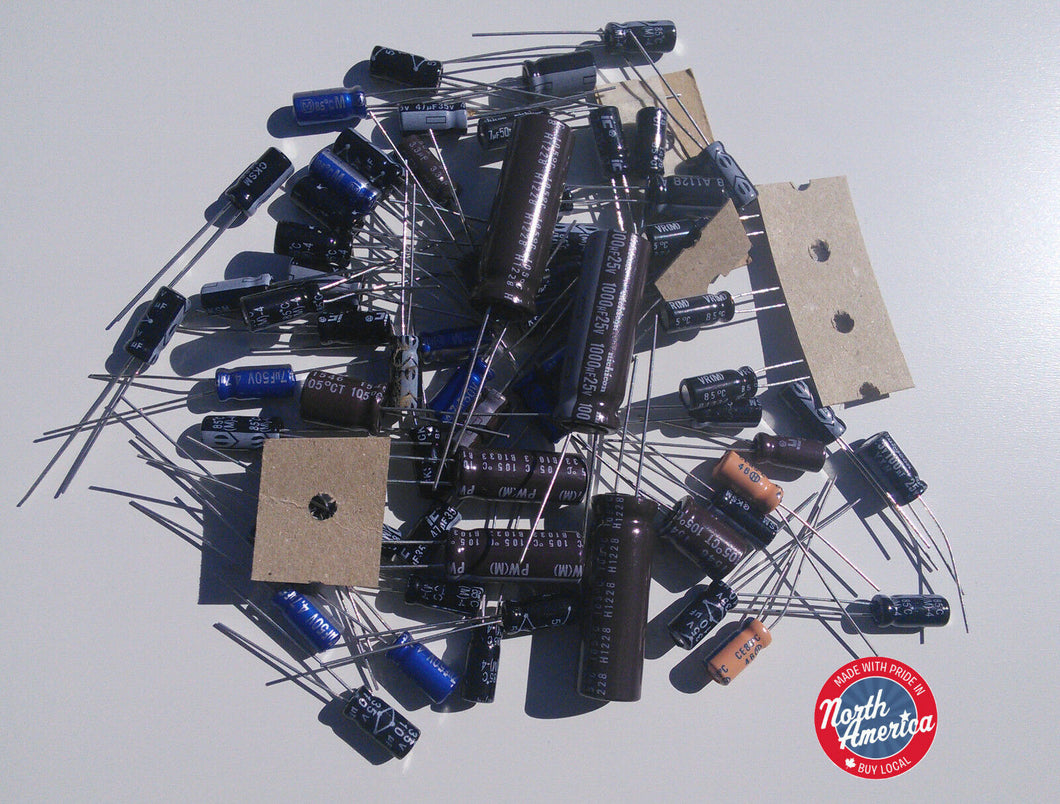 President HR-2600 electrolytic capacitor kit