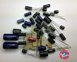 Realistic TRC-453 (21-1566) / Uniden PC-122 (PB-062) electrolytic capacitor kit