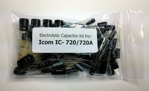 Icom IC-720 / IC-720A electrolytic capacitor kit